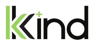 logo for Kkind Provisioning Center which features a double K and a small green cross