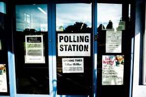 a polling place where someone might go to vote of Proposition 1